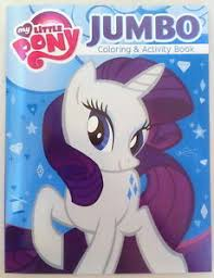 Image Is Loading My Little Pony Rarity Amp Friends Coloring