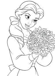 Coloring Pages Princess Disney Book Online 3d App Pdf