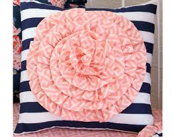 Coral And Navy Baby Bedding by Coral And Navy Baby Bedding Stripe And Floral Chic