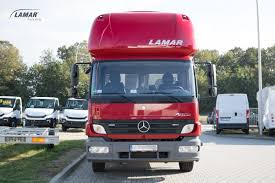 Mercedes-Benz Atego With Aero Cab Light Sleeper Cab - Lamar