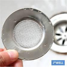 new handle mesh stainless steel kitchen bathroom sink strainer