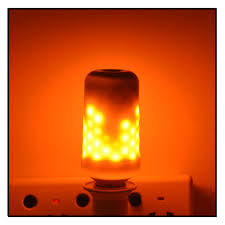 e27 led corn light bulb effect 110v 220v simulation