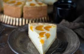 cremiger limetten pistazien ricotta cheesecake käsekuchen