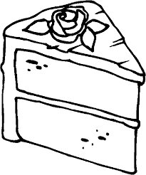 Slice Cake Drawing slice cake coloring pages coloringstar easy cake recipes great Cake ideas Slice Cake Drawing jerseys008