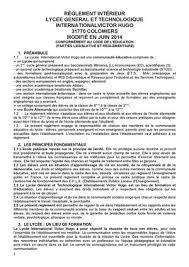 reglement interieur auto ecole calaméo règlement intérieur