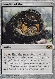 Stacks On Deck Patron On Ice by Sundial Of The Infinite M12 Mtg Card