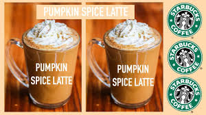 When Are Pumpkin Spice Lattes At Starbucks by Diy Pumpkin Spice Latte Starbucks Drinks For Fall Easy Youtube