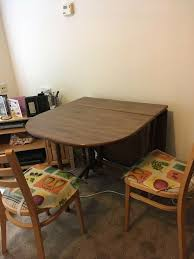 Foldaway Dining Table & Chairs | In Sheffield, South Yorkshire | Gumtree