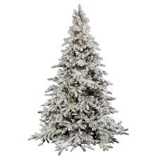 Flocked Downswept Christmas Trees by Christmas Trees Fillers U0026 Backgrounds Polyvore