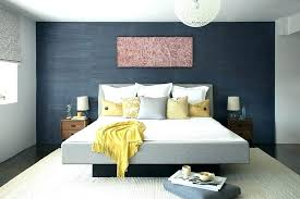 Dark Gray Accent Wall Grey In Bedroom Blue Contemporary With Dining Room