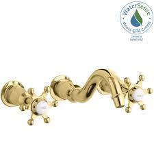 Kohler Karbon Faucet Gold by Kohler Wall Mounted Bathroom Sink Faucets Bathroom Sink