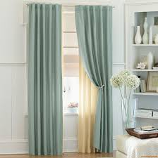 fresh awesome curtain ideas for blue living room 4580