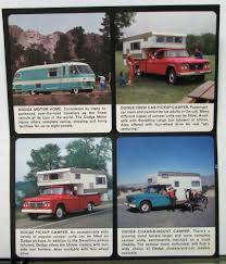 100 1962 Dodge Truck RV Motor Home Pickup Camper Camp Wagon Sales