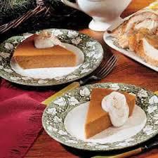 Crustless Pumpkin Pie by Crustless Pumpkin Pie Recipe Taste Of Home