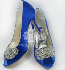 blue wedding shoes wedding shoes & accessories Pinterest