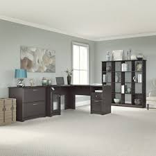 Bush Cabot L Shaped Desk Office Suite by Cyber Monday Latitude Run Luther 1 Piece L Shaped Desk Office