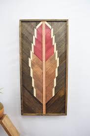 Handmade Reclaimed Wood Wall Art Hanging