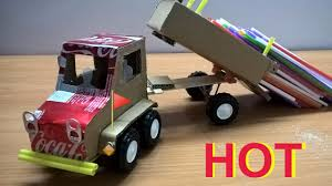 100 Dc Toy Trucks How To Make A Truck With Coca Cola And Carton DIY Easy