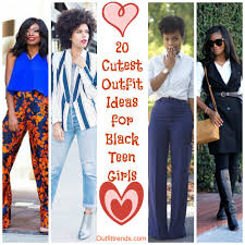 20 Cute Outfit Ideas For Black Teenage Girls This Season