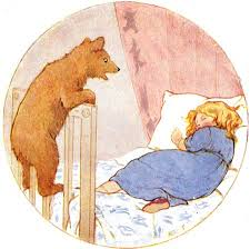 Goldilocks And The Three Bears By Margaret Tarrant