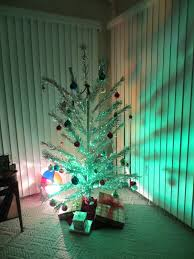 Rotating Color Wheel For Christmas Tree by Sweetie Suz Birthday Baby And Aluminum Christmas Trees