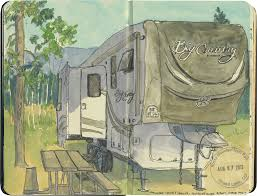 RV Sketch By Chandler OLeary