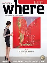 where magazin september 2015 by where berlin dinamix media