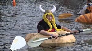 Damariscotta Pumpkin Festival by 31 Days Of Halloween Day 16 Pumpkin Regatta Youtube