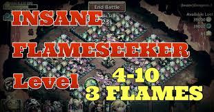 Pumpkin Duke Castle Clash Hack by Castle Clash Flameseeker Level 4 10 3 Flaming It Insane Dungeons