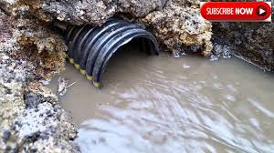 Perforated Drain Tile Sizes by Farm Drainage Tile How Fast Tile Actually Starts Working Youtube