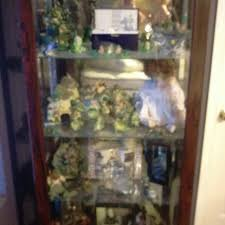 best cherry curio cabinet with light for sale in athens