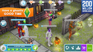 Sims Freeplay Halloween Update by The Sims Freeplay Aso Report And App Store Data Apptweak