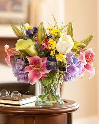 Fake Floral Arrangements For Your Table Centerpiece Beautiful Colorful Spring