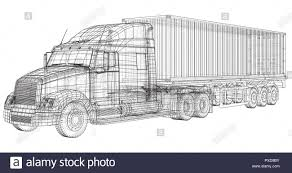 Trailer Truck. Abstract Drawing. Tracing Illustration Of 3d Stock ... Cars And Trucks Coloring Pages Unique Truck Drawing For Kids At Fire How To Draw A Youtube Draw Really Easy Tutorial For Getdrawingscom Free Personal Use A Monster 83368 Pickup Drawings American Classic Car Printable Colouring 2000 Step By Learn 5 Log Drawing Transport Truck Free Download On Ayoqqorg Royalty Stock Illustration Of Sketch Vector Art More Images Automobile