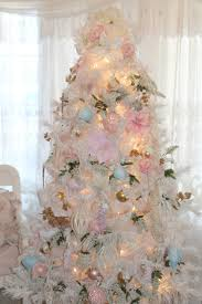 Inexpensive White Christmas Tree Decorating