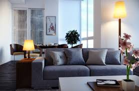 Living Room Breathtaking Gray Furniture Set With