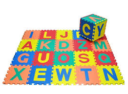 Soft Foam Alphabet Play Mat Toy 26Pieces Jigsaw Play Area With