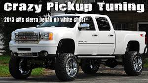 Crazy Pickup Truck Tuning: 2013 GMC Sierra Denali HD White Ghost ... 2016 Gmc Sierra 1500 Denali 62l V8 4x4 Test Review Car And Driver Used 2013 2500 Diesel 66l For Sale In Blainville 3500 Sale Nashville Tn Stock Pressroom United States Images 2014 4wd Crew Cab Longterm Verdict Motor Trend Price Ut Salt Lake City Terrain Flagstaff Az Pheonix 160402 Carroll Ia 51401 Unveils Autosavant Supercharged Sherwood Park 201415 201315 Review Notes Autoweek
