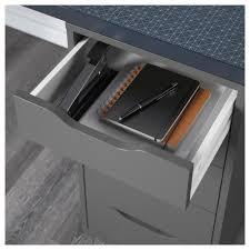 Linnmon Alex Desk Black by Alex Linnmon Table Geometric Blue Black 120x60 Cm Ikea