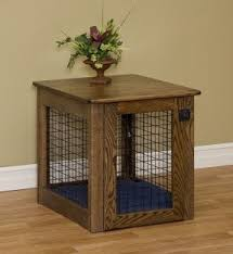 How To Build A End Table Dog Crate by Designer Dog Crates Furniture Foter