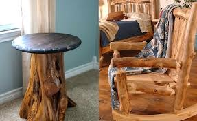 How To Make Rustic Furniture Wood At Home Log