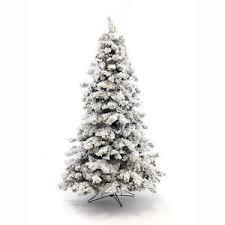 Image Is Loading Perfect Holiday Pre Lit Christmas Tree Alaskan Snow