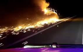 Queensland Police Chase Truck Driver With A Flaming Trailer Down The ... Woman Takes Baby On 100mph Police Chase World The Times Off Road Classifieds F450 Diesel 4x4 Chase Truck Man Woman Steal Fire Truck Lead Hourslong In Vacation Car Scene Youtube Hauling Liquid Involved Highspeed Texas Naked Steals Leads Lapd Wild By And Foot Thread Racedezert Police 10yearold Leads Officers After Stealing Car To Spike Strips Used To End Tulsa News On 6 Cop Dog Injured During Through Indiana And Illinois 2 Incredible Lince Kill James Bond 007 Dramatic Chase Ending Pursuit Stolen Penske Semitruck La