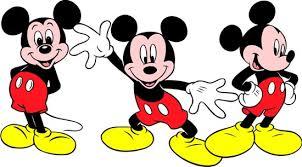Mickey Waving Clipart 1