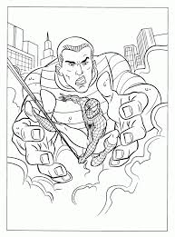 Spiderman Coloring Pages Free 145681
