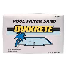 Quikrete 50 lb Pool Filter Sand The Home Depot