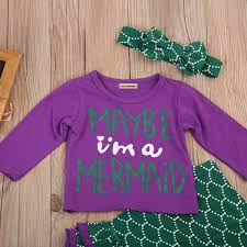 Amazoncom Pybcvrrd 3PCs Toddler Baby Girl Long Sleeves Letter