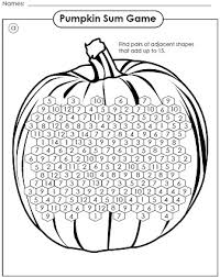 Halloween Brain Teasers Worksheets by Halloween Math Game