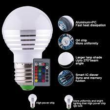 e14 led bulb e27 e14 l rgb light 5w led bul ac220v 110v