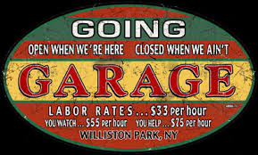 Personalized Signs From Garage Art LLC
